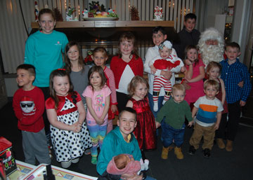 Best Christmas Party Ever.Santa And Wuzzy Huge Hit At Best Christmas Party Ever
